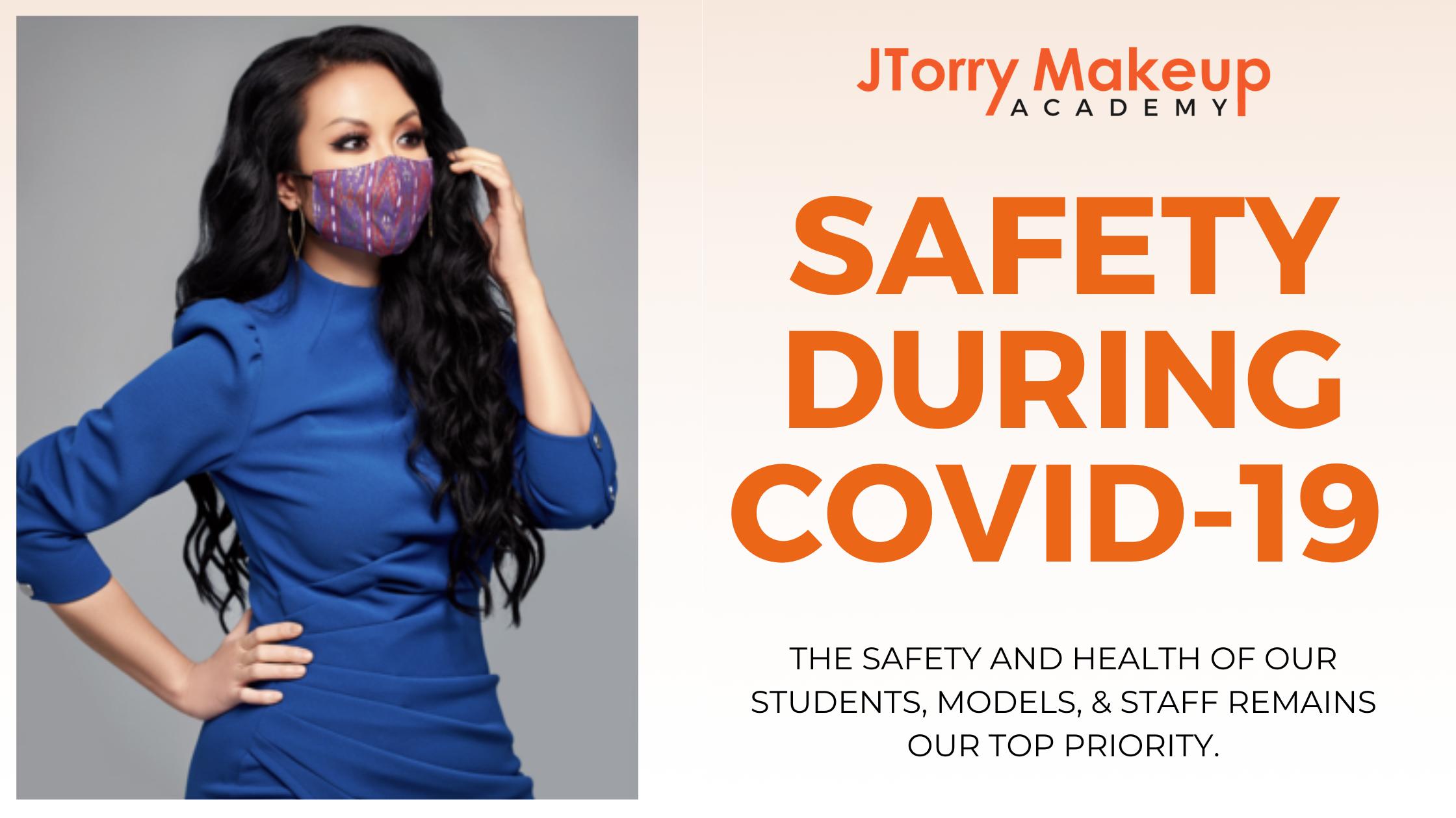 Jenny with face mask